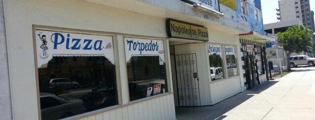 Napoleone's Pizza House is one of SanDiego -LA.