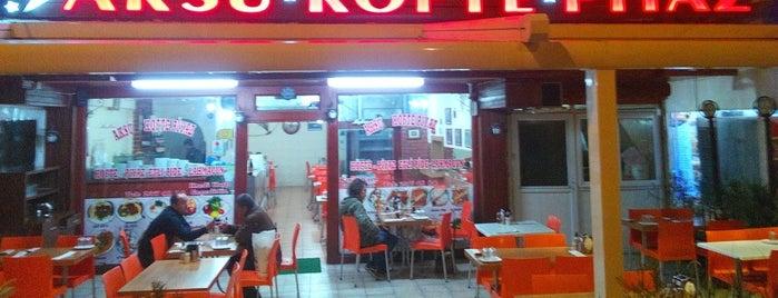 Yıldız Aksu Köfte Piyaz is one of Locais curtidos por Zümre.