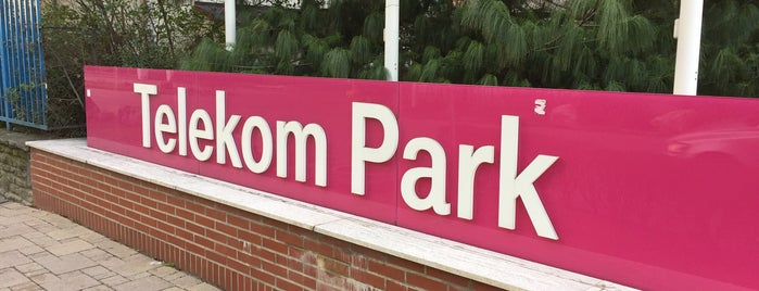Telekom Park is one of Adamさんのお気に入りスポット.
