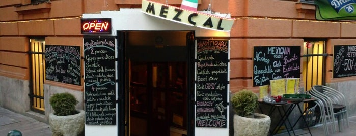 Mezcal Mexikói Étterem is one of Budapeste.
