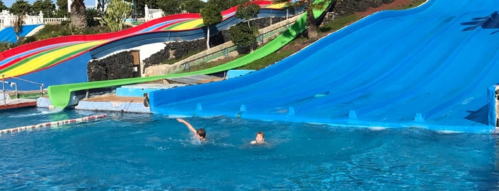 Aquapark is one of Lanzarote, Spain.