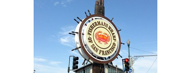 Fisherman's Wharf is one of Califórnia.