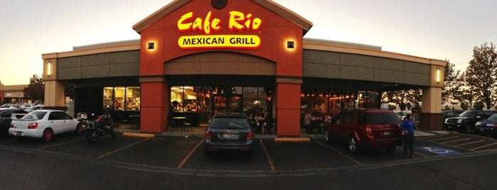 Cafe Rio Mexican Grill is one of Boise.