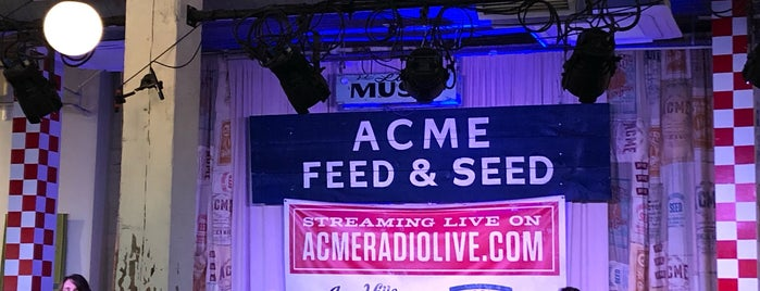 Acme Feed & Seed is one of สถานที่ที่ Dan ถูกใจ.