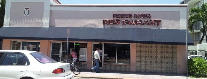 Puerto Sagua Restaurant is one of Guide to Miami Beach's best spots.
