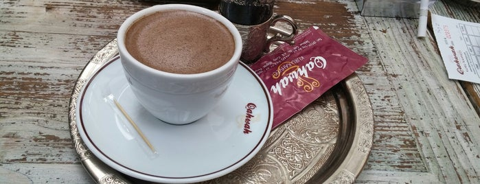 Qahwah is one of İstanbul'da Türk Kahvesi Nerede İçilir?.