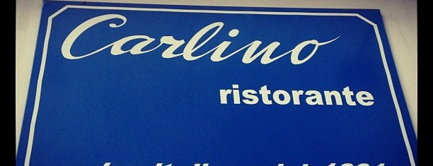 Carlino Ristorante is one of Restaurantes.