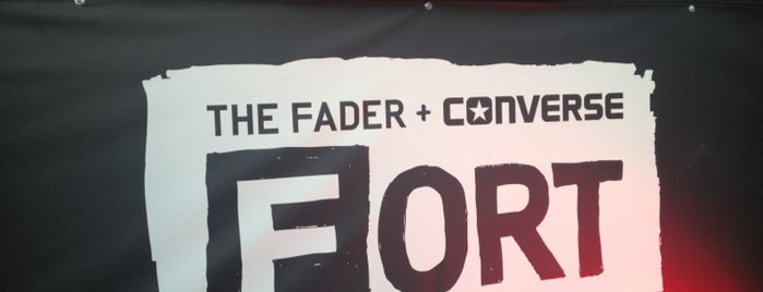 FADER Fort Presented by Converse is one of SXSW® 2013 (South by Southwest) Guide.
