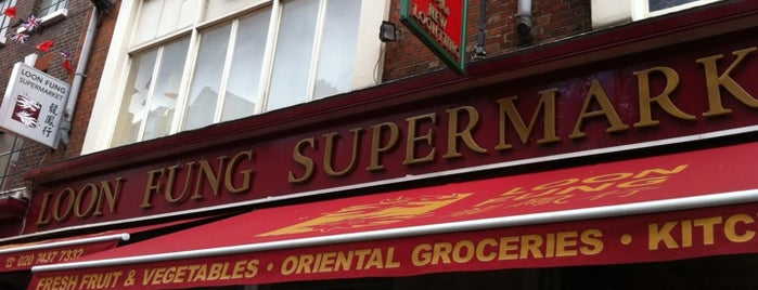 Loon Fung Supermarket is one of Summer in London/été à Londres.