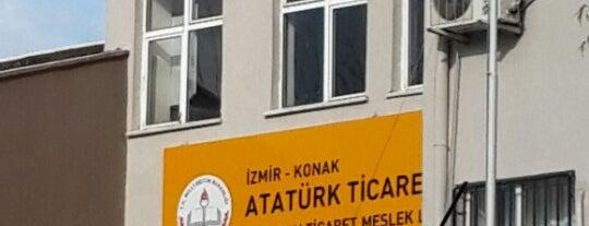 Konak Atatürk Ticaret Meslek Lisesi is one of Mekanlarım.