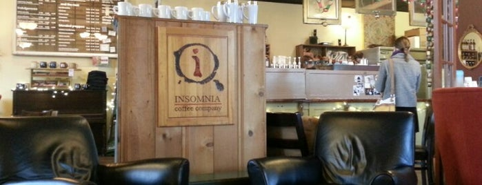 Insomnia Coffee Company is one of Lugares favoritos de Rosana.