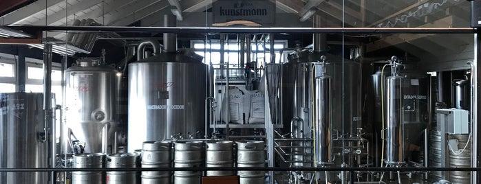 Cervecería Kunstmann is one of BRC.