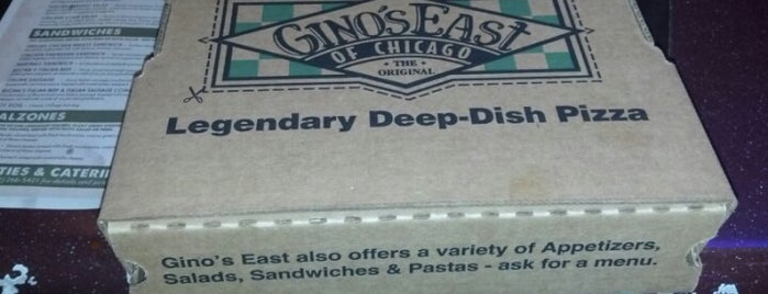 Gino's East is one of Chicago: I'm Starving.
