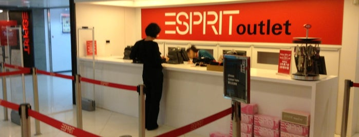 Esprit Outlet is one of Hong Kong.