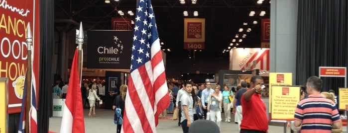 Summer Fancy Food Show (June 30 - July 2, 2013) is one of NY.