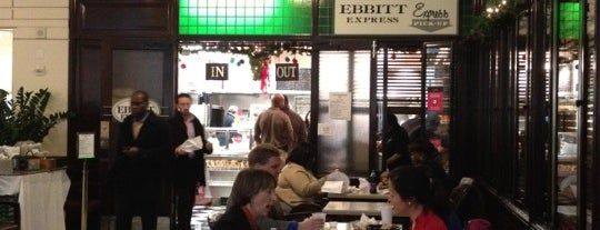 Ebbitt Express is one of Washington dc to do.