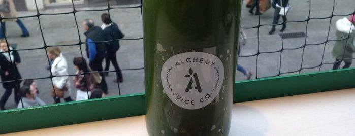 Alchemy Juice Co @BT2 is one of Dublin.