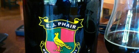 E.J. Phair Brewing Company & Alehouse is one of Lieux qui ont plu à Michi.