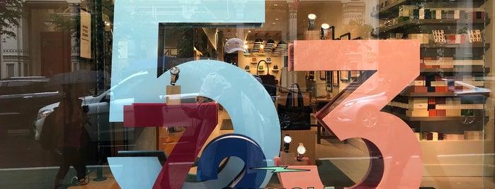 Shinola Soho is one of NYC Best Shops.