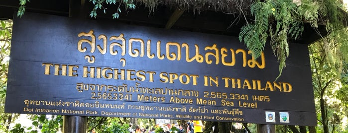 The Highest Spot in Thailand is one of Trips / Thailand.