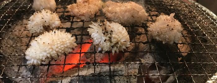 かんてき焼肉 浦江亭 本店 is one of สถานที่ที่บันทึกไว้ของ k_chicken.