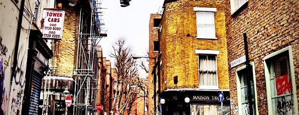 Redchurch Street is one of London.
