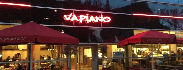 Vapiano is one of Frank 님이 좋아한 장소.