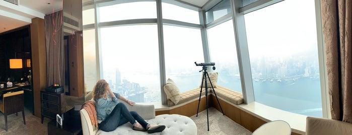 The Ritz-Carlton, Hong Kong is one of Lugares favoritos de Danny.