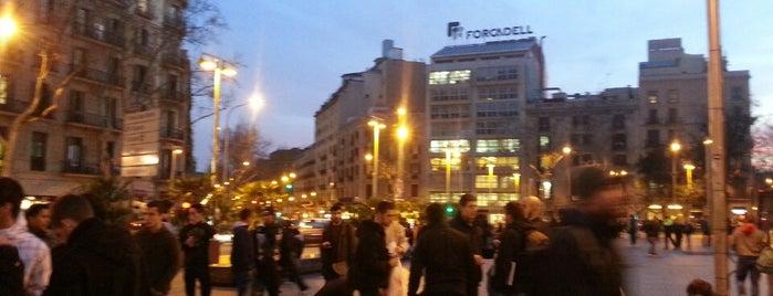 Plaça de la Universitat is one of Bars in Barcelona.