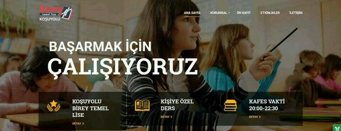 Özel Koşuyolu Birey Temel Lisesi & Hazırlık Kursu is one of Lieux qui ont plu à Korhan.
