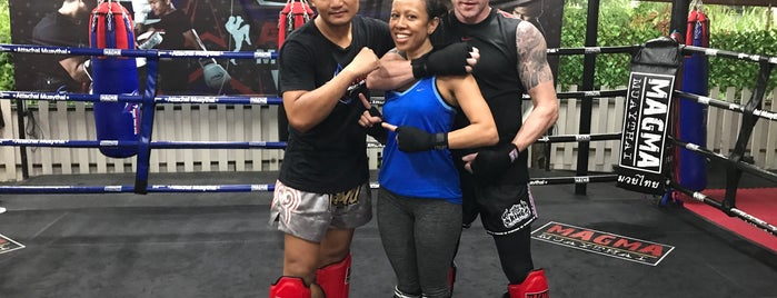 Attachai Muay Thai Gym is one of Locais curtidos por Chuck.