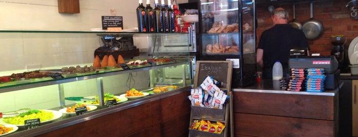 Salvi's Pizzeria Napoletana is one of Manchester: Cafés & Coffee.
