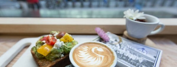 Bluestone Lane is one of Café & Bfast.