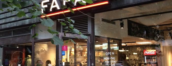 Fafa's is one of Vegan & vegan-friendly Helsinki.