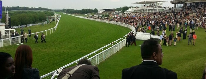 Goodwood Racecourse is one of CBS Sunday Morning 5.