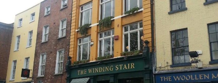 The Winding Stair is one of MY DUBLIN.