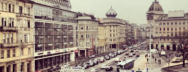 Blaha Lujza tér is one of Burçin : понравившиеся места.