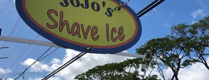 Jo Jo's Shave Ice is one of South Shore Kauai.
