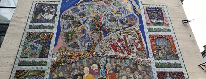 The Spirit Of Soho Mural is one of 1000 Things To Do In London (pt 2).