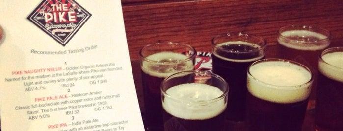 Pike Brewing Company is one of Orte, die Morgan gefallen.