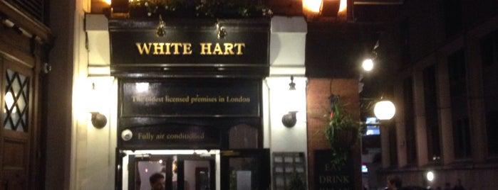 The White Hart is one of iHARA'nın Beğendiği Mekanlar.