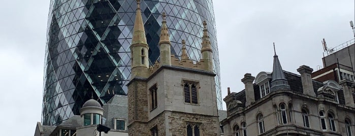 30 St Mary Axe is one of Food & Drink to check out.