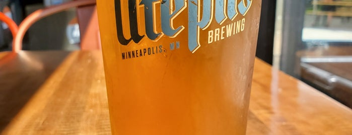 Utepils Brewing Co. is one of TC Breweries.