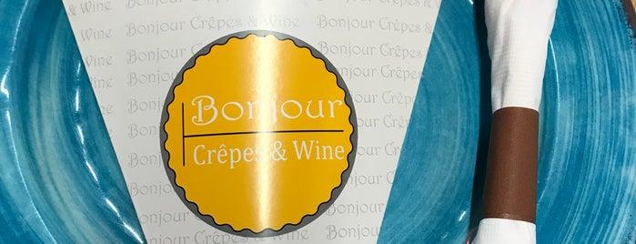 Bonjour Crêpes & Wine is one of สถานที่ที่ Alexander ถูกใจ.