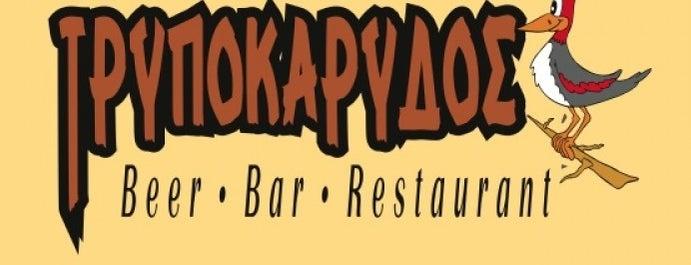 Τρυποκάρυδος is one of Μπυραρίες στην Ελλάδα.