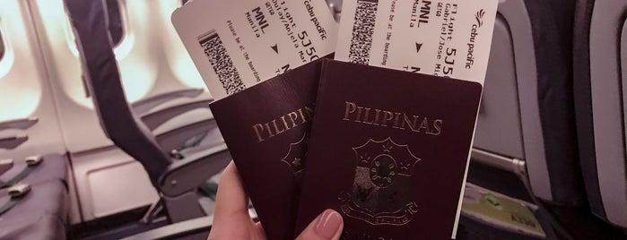 Ninoy Aquino International Airport (MNL) is one of Locais curtidos por Shank.