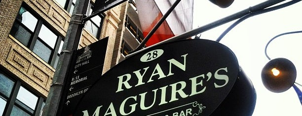 Ryan Maguire's Ale House is one of FiDi.