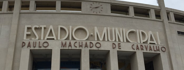 Estádio Municipal Paulo Machado de Carvalho (Pacaembu) is one of Orte, die Tarzan gefallen.