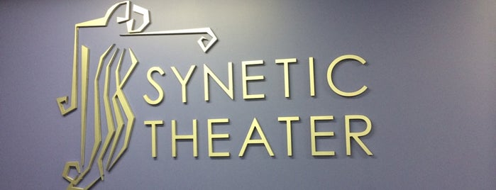 Synetic Theater @ Studio Violet is one of Tempat yang Disukai Marley.