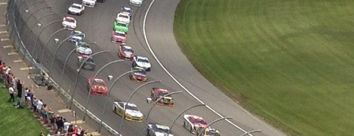 Michigan International Speedway is one of 🎿🏈🏀⚽️⚾️.